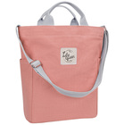 Lily Queen Handbags Purse Canvas Crossbody Tote purse for Women Casual Message Bag for Teen