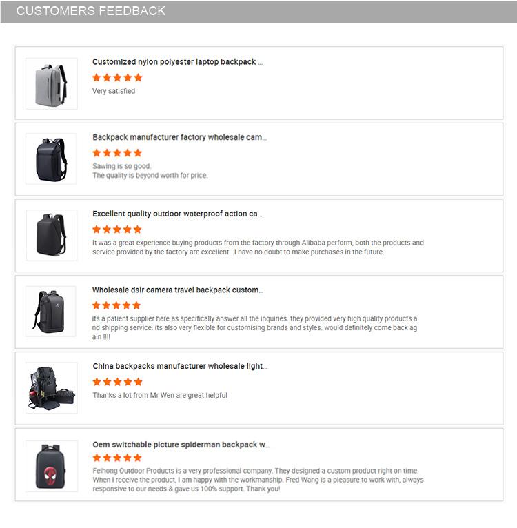 Custom Oem Design High Quality Branded Laptop Backpack
