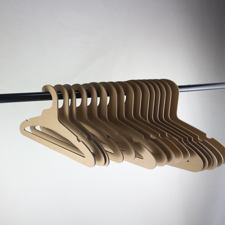 Eco-Friendly paper hangers recyclable cardboard hanger for baby or kids or adult
