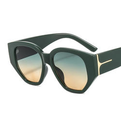 Lbashades Trendy Irregular Shape Womans Sunglasses