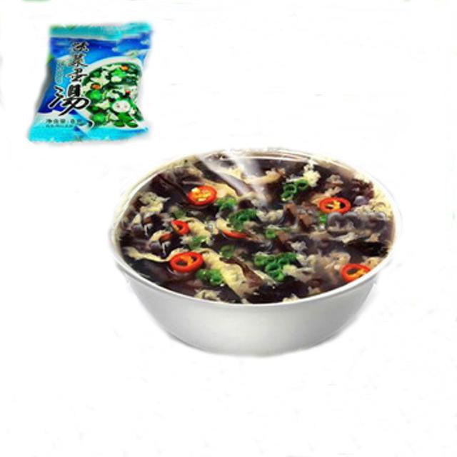 Best selling produto de embalagem a vácuo de alimentos liofilizadas sopa de ovo