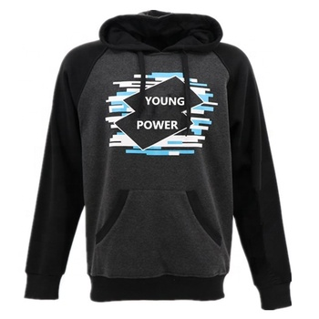 wholesale cheap korean style black youth pullover men casual sportswear hoodies without zipper