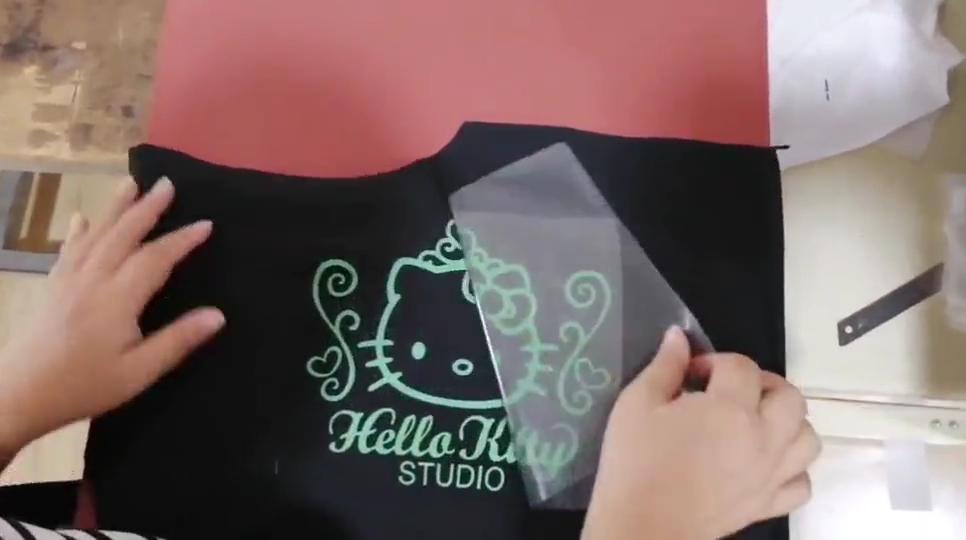 Koreaanse Textiel Metallic Htv Warmteoverdracht Vinyl Voor T Shirts