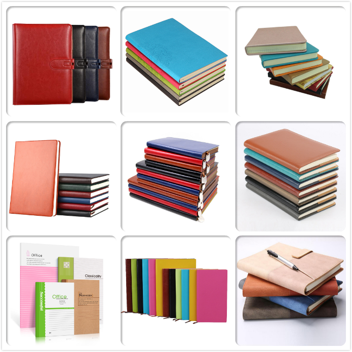 School supplies stationery custom diary book personal planner spiral notebook a4 a5