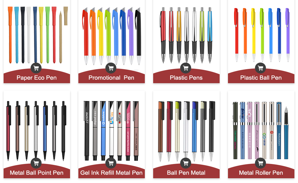 Cheap Hot Sale Top Quality  Promotional Pen Wholesale Ball Gel Point Pen Ink Refills