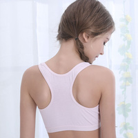 High Quality Breathable Puberty Teen Girls Sleep Vest Bra