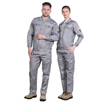 Oil resistance refuse water anti-static work uniform