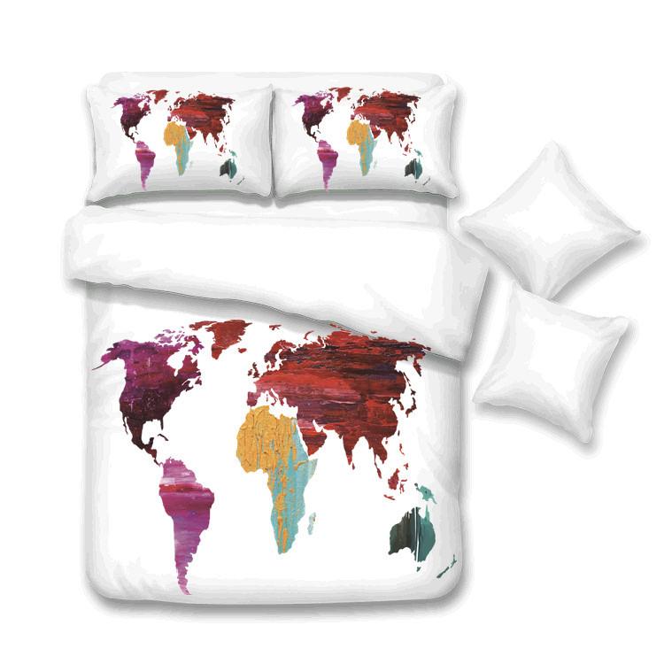 Luxury Design Latest 3D Printed Duvet Cover PillowCase Bedding Set