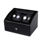 New Trend Products Personalized Logo Watch Box 4+6 Watch Winder
