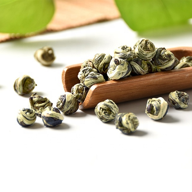 Top Grade Spring Jasmine Scented Dragon Pearl Tea - 4uTea | 4uTea.com