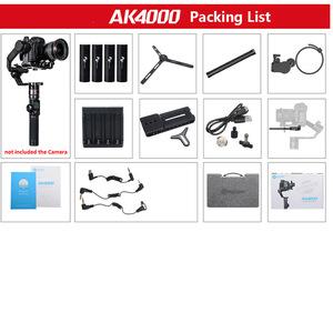 FeiyuTech feiyu AK2000 AK4000 3-Axis Camera Stabilizer Handhel Gimbal for Sony Canon Nikon Fujifilm Gimble Gimbal