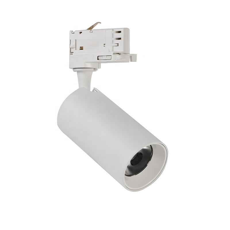 Factory wholesale white black commercial led track light cob led 10w