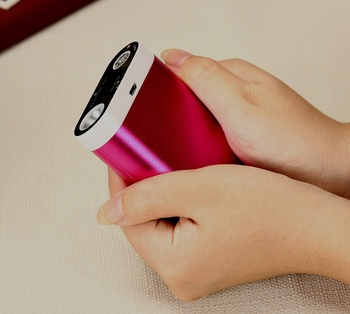 pocket portable led electric rechargeable battery powered hand heater