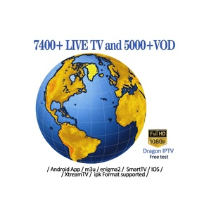 Dragon IPTV Free Test Code 7400+Live TV and 5000+VOD SmartTV Android App  IOS IPK Format Supported World Subscription TV Box 2019