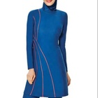 MOTIVE FORCE Strips Colorblock Young Girls Muslim Swimwear OEM/ODM Service Factory Wholesale