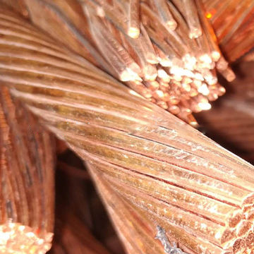 99.7%-99.99% Copper Content High purity Copper Scrap from china factory for sales