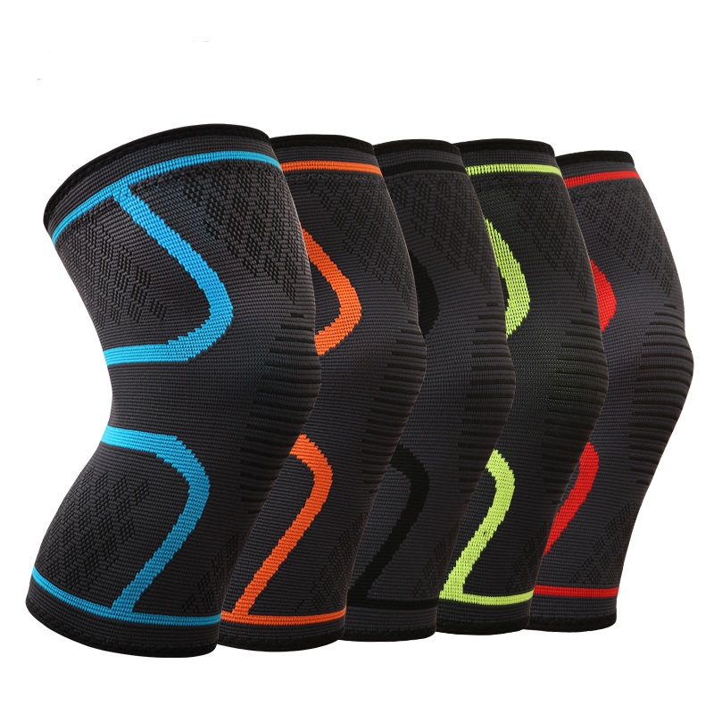 Comfort anti slip Compression knitting knee brace support sleeve for Pain Relief products, Sports, Running, Jogging, Lifting фото