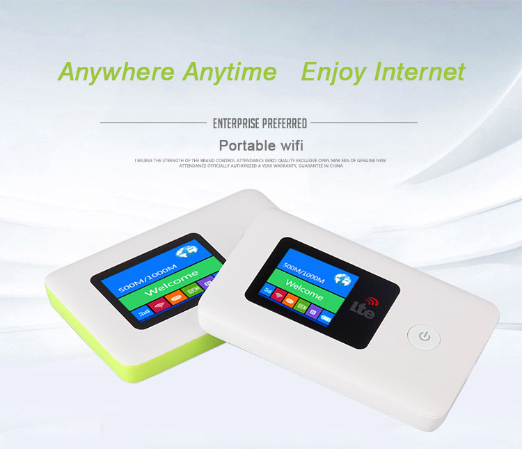 4G LTE Mobile Hotspot Nirkabel Broadband Mini Membuka 4G 3G Router Wifi Portabel Dongle Tablet Ponsel menggunakan Wifi Router