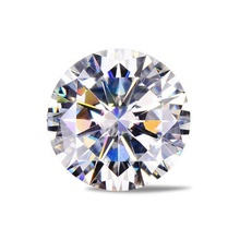 1.0ct vvs vs SI D E F cvd lab grown ruvida lucido diamante