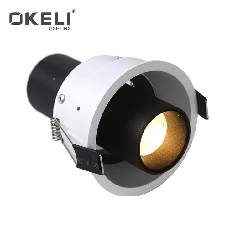 OKELI Office Hotel Modern Aluminum COB 7W 12W 2*7W 2*12W Recessed LED Spot Light