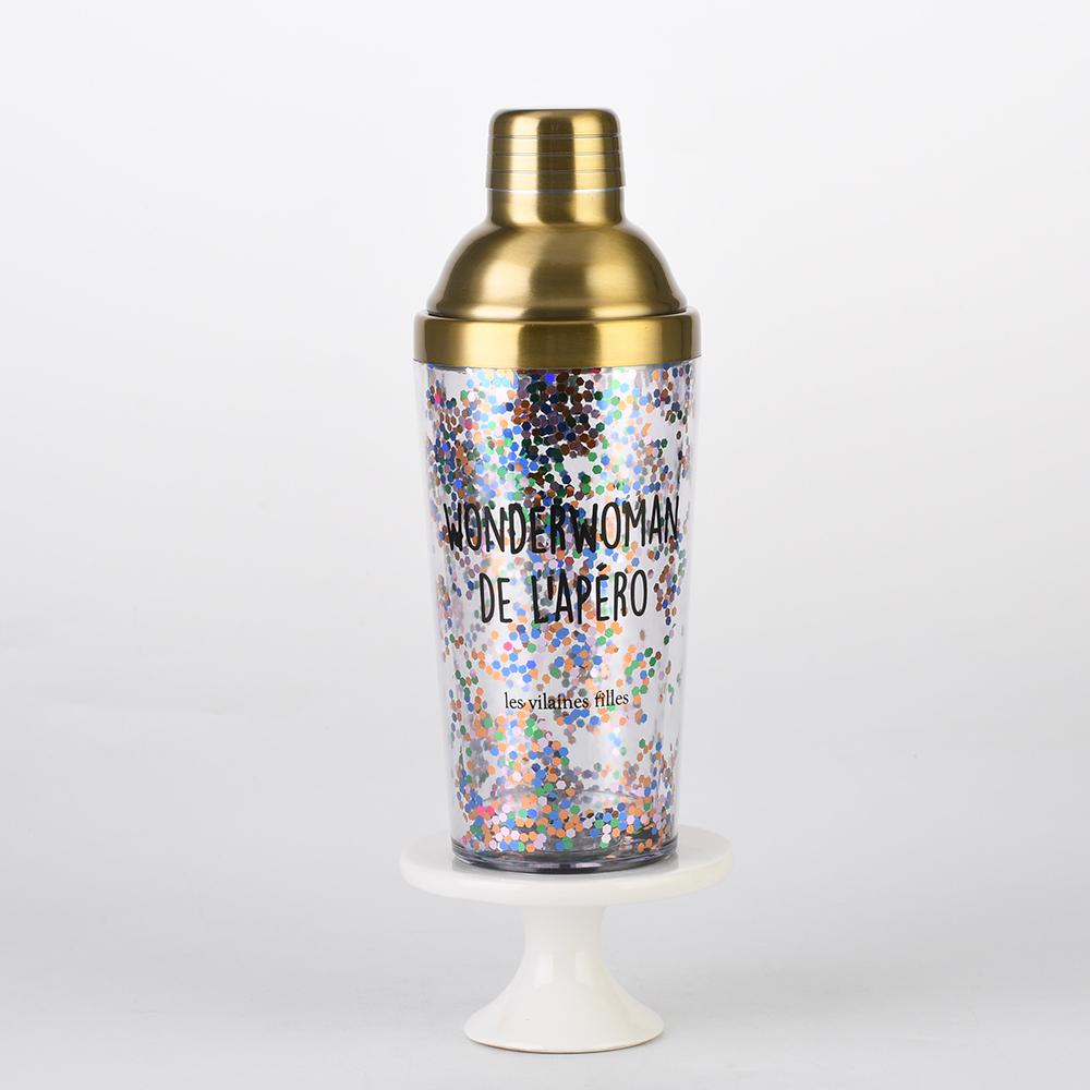 Shiny new design bar dedicated cocktail shaker