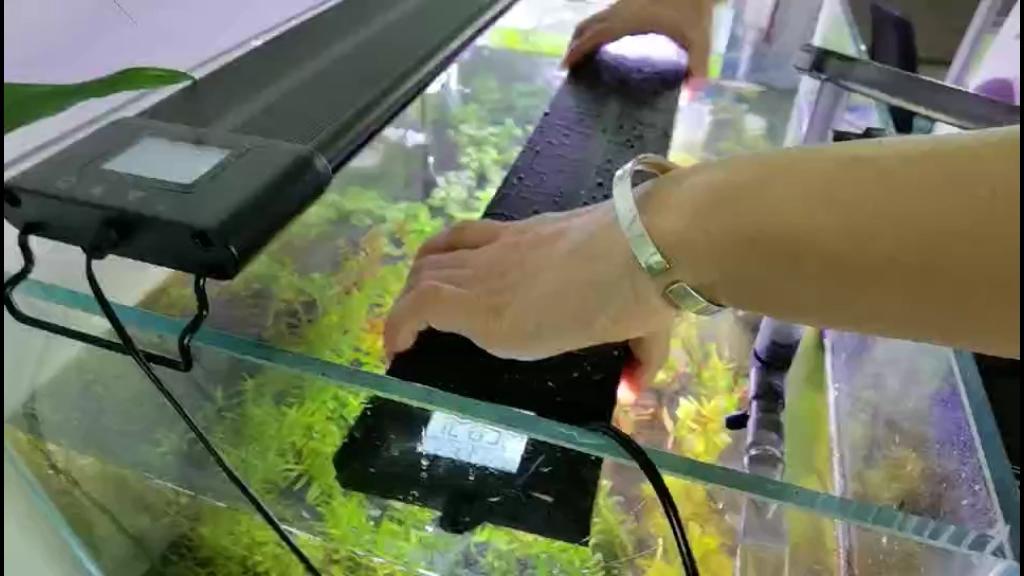 ไฟตู้ปลาขนาด36-48นิ้ว,ไฟLedตั้งเวลาเปิดปิดอัตโนมัติแบบเต็มสเปคตรัม56Wโปรแกรมได้กันน้ำIP68