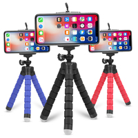 Wholesale Price Mini Flexible Small Sponge Octopus Selfie Tripod Stand For Smartphone And Gopros Camera