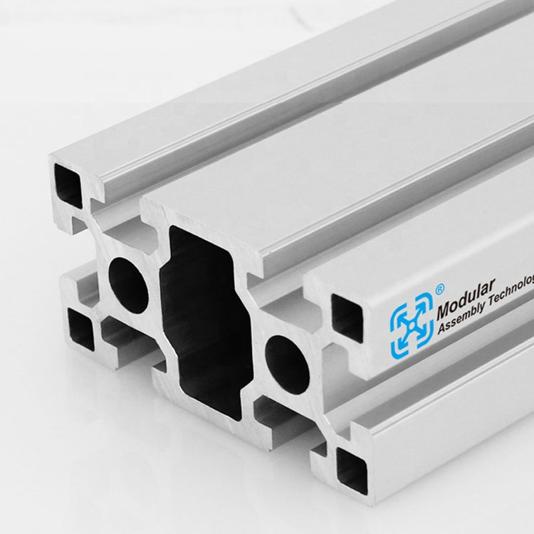 T-slot aluminum extrusion profiles with accessories fasteners