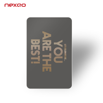High quality! Special Offer Gold Foil Printing Plastic Business Cards