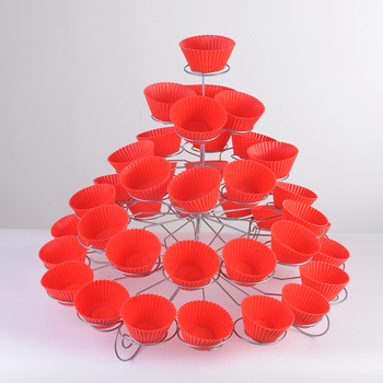 YZ1110-5 5 Tier Cake Stand Wedding Paper Cupcake Stand