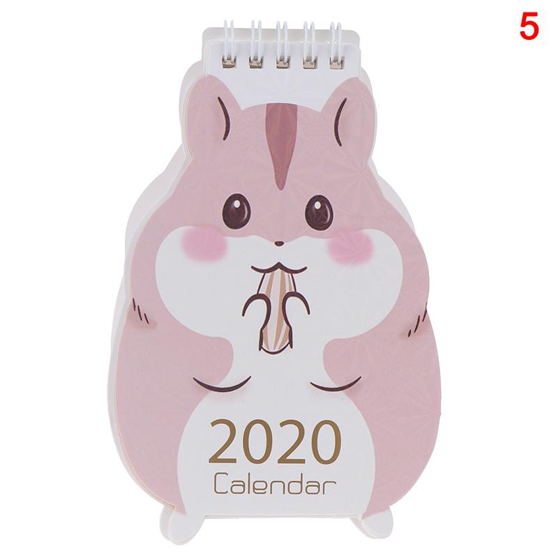 2020 Ежедневник для заметок ежедневный календарь 2020 настольный календарь с мультяшными рисунками милая форма овцы(Китай)