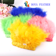 Marabou Feather Fringes และ Trimmings