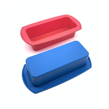 BHD Custom FDA Eco-Friendly Commercial Grade Nonstick Mini Silicone Bread Loaf Pans Mold