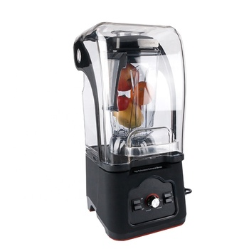 1680W Strong Power Ice Drink Commercial Blender Electric Mixer with Sound Proof