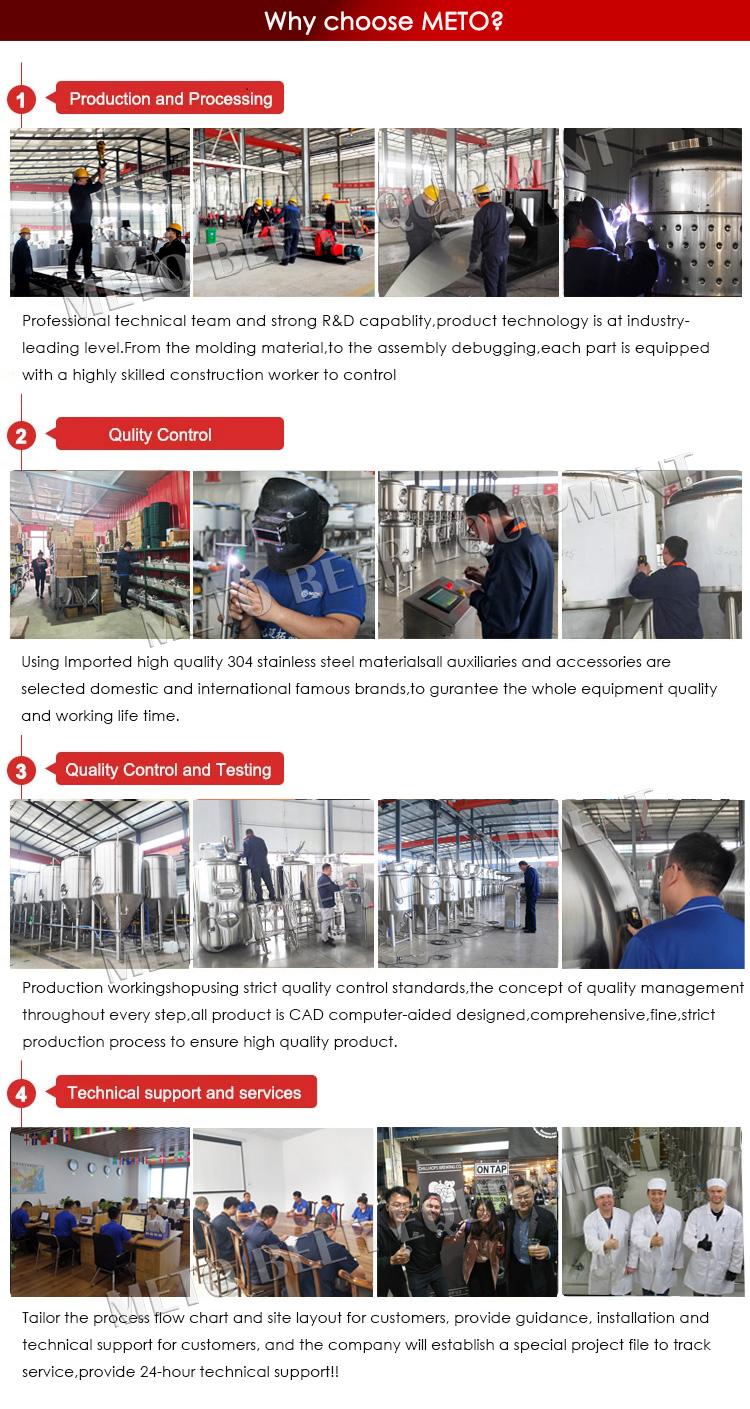 300L 500L mikro damıtma ekipmanları bira bira makinesi satışı