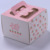 Wholesale New Type Cardboard Cake Paper Box Packaging with window and Handle