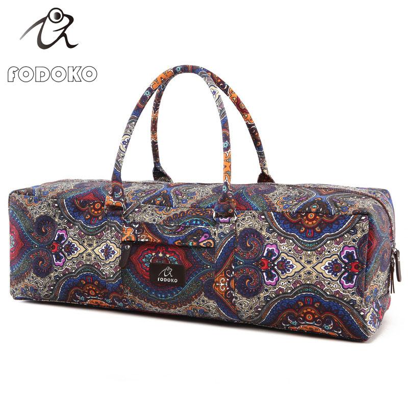 Wholesale Printed Eco Friendly Tote Carrier Custom Yoga Mat Bags