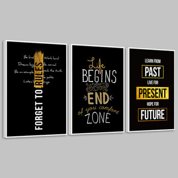 Modern Motivation Canvas Poster Painting Inspirational Wall Art For Living Room Deco
