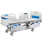 Medical equipment 5 functions electric icu hospital bed 3 crank Metal Used Adjustable Hospital Bed Philippines