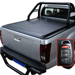 Roller lid Truck Pick up bed cover for Chevrolet for Toyota for DMAX Electric Aluminium Alloy Tonneau Cover for Ford Pickup