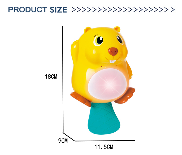 Plastic water game baby summer children shower lovely animal bath spray toy