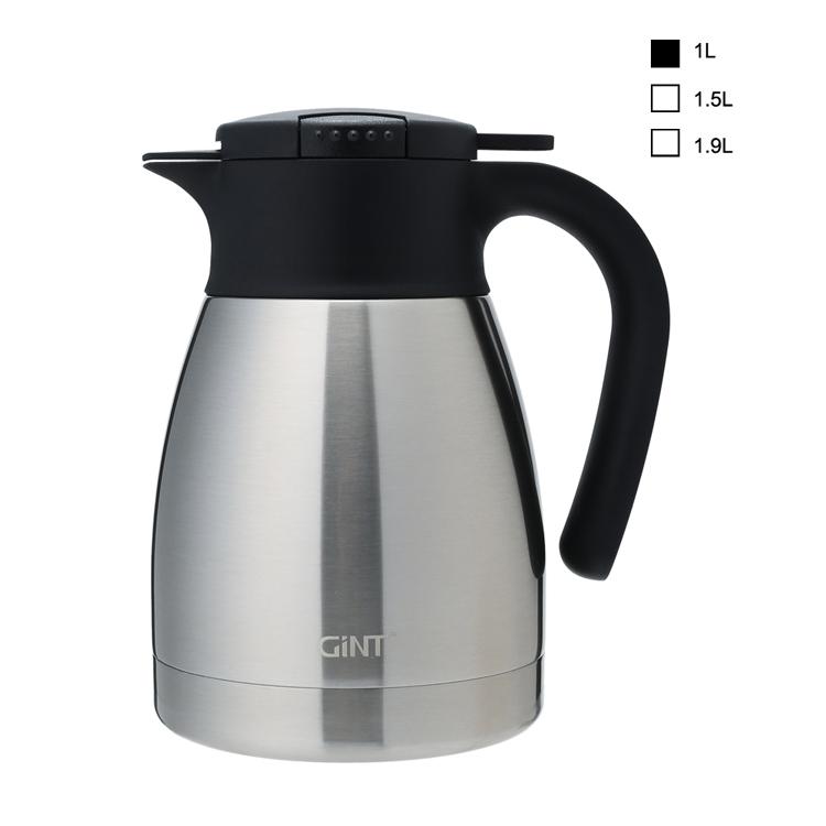 2020 Hot Sale Kapasitas Besar LOGO Kustom Insulated Stainless Steel Vacuum Coffee Pot Dallah