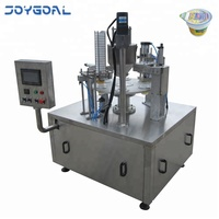 Shanghai Joygoal cup filling and sealing machine rotary cup honey packing equipment high quality