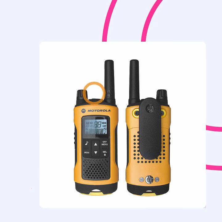 Tetra Portable Radio Walki Talki Motorola 30km  Motorola T80