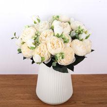 10 шт красивые пионы Цветы Свадебные украшения для дома(Китай)