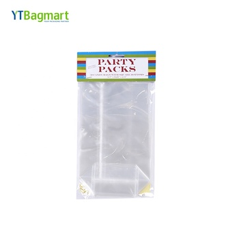 YTBagmart Custom Header Card Packaging Self-Adhesive Plastic Opp Package Bag with Logo