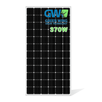 GW Solar Panel blacksheet Panels 330 Watt Kit Solar System Solar Panel Photovoltaic 340w 350w 360w 370W 380w