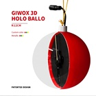 Idea GIWOX HOLOBALLO 12cm 3D Holographic Fan Display Christmas Ornaments For Gifts Idea And Decoration Supplies