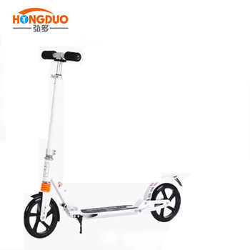 suspension kick scooter 200mm wheels for teenagers