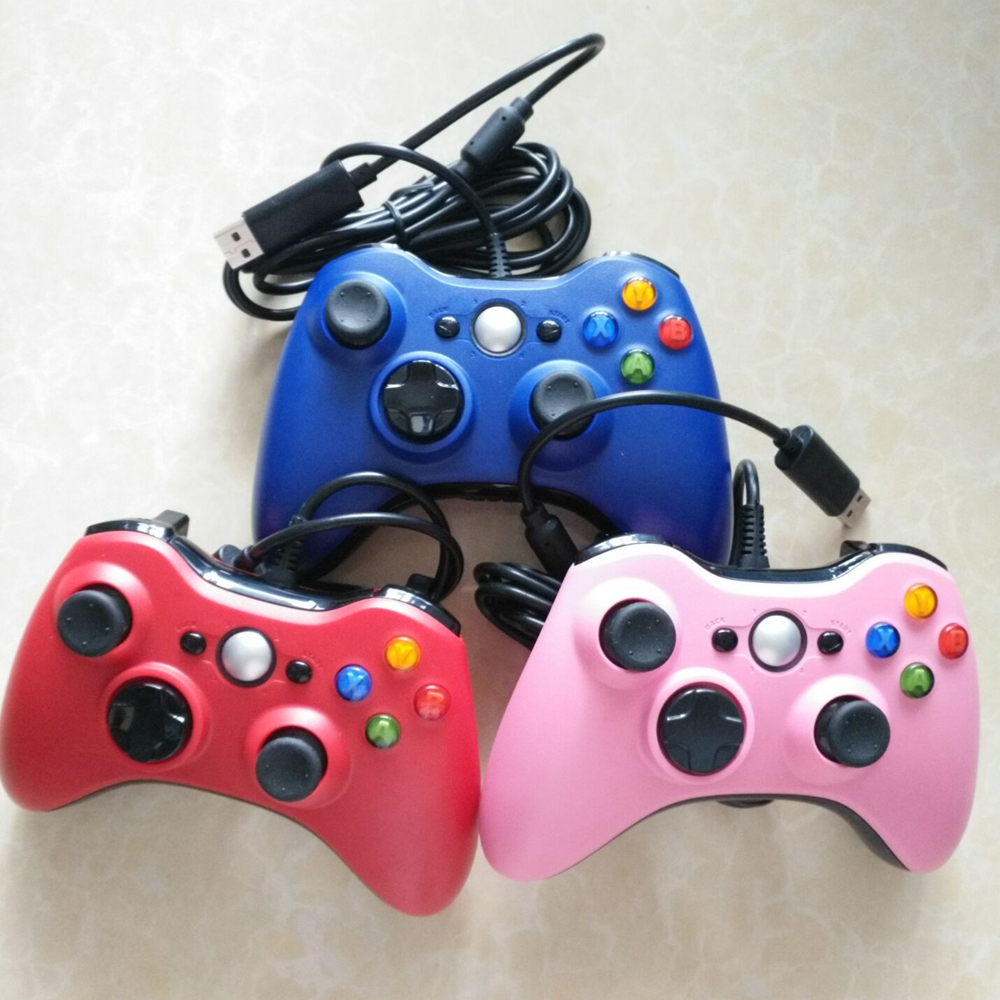 USB Wired Gamepad For <strong>Xbox</strong> <strong>360</strong> Joystick <strong>Controller</strong> Controle Wired Joystick For XBOX360 Game <strong>Controller</strong> Gamepad Joypad